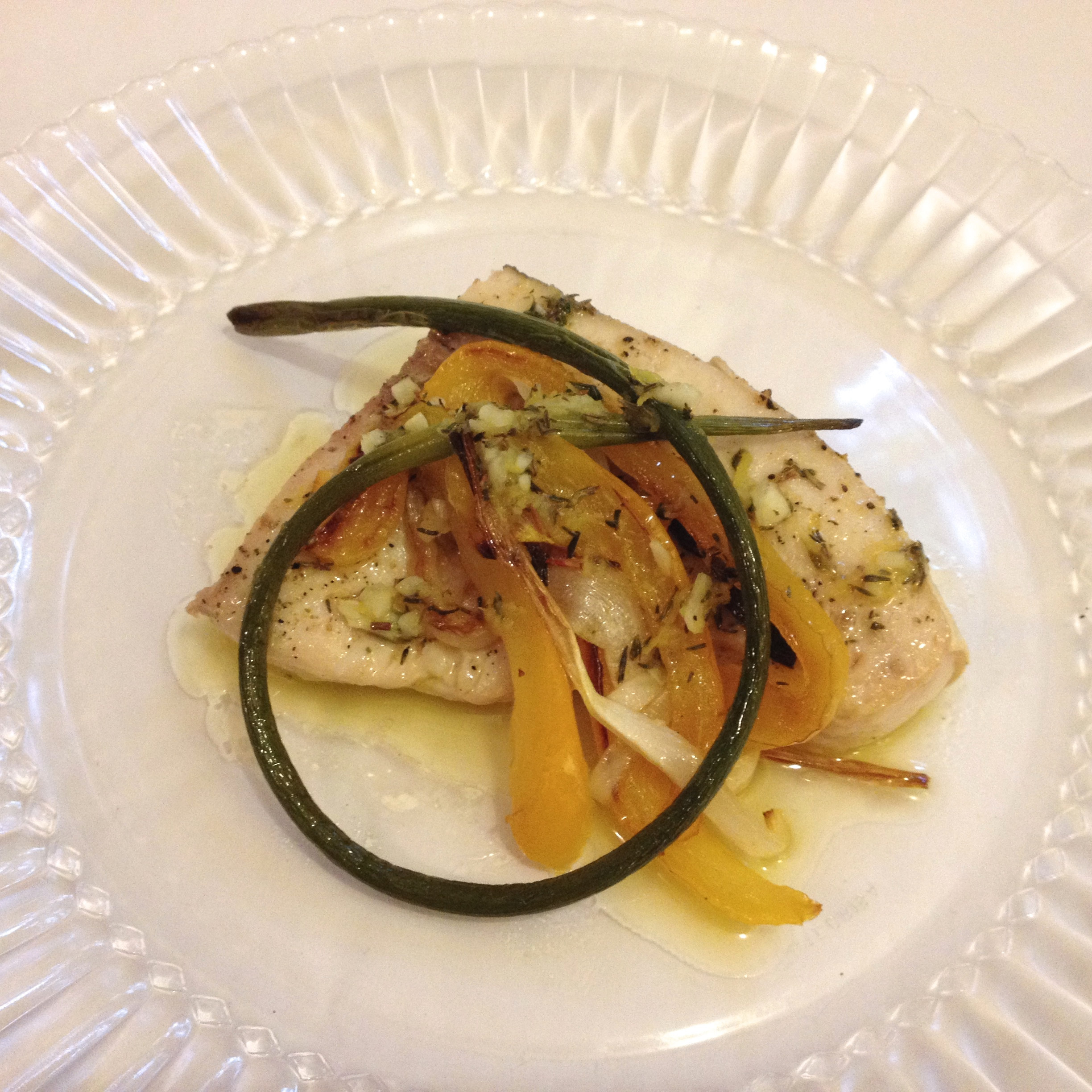 Lemon Pepper Swordfish