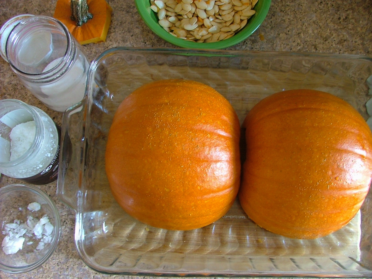 How to Bake a Sugar Pumpkin