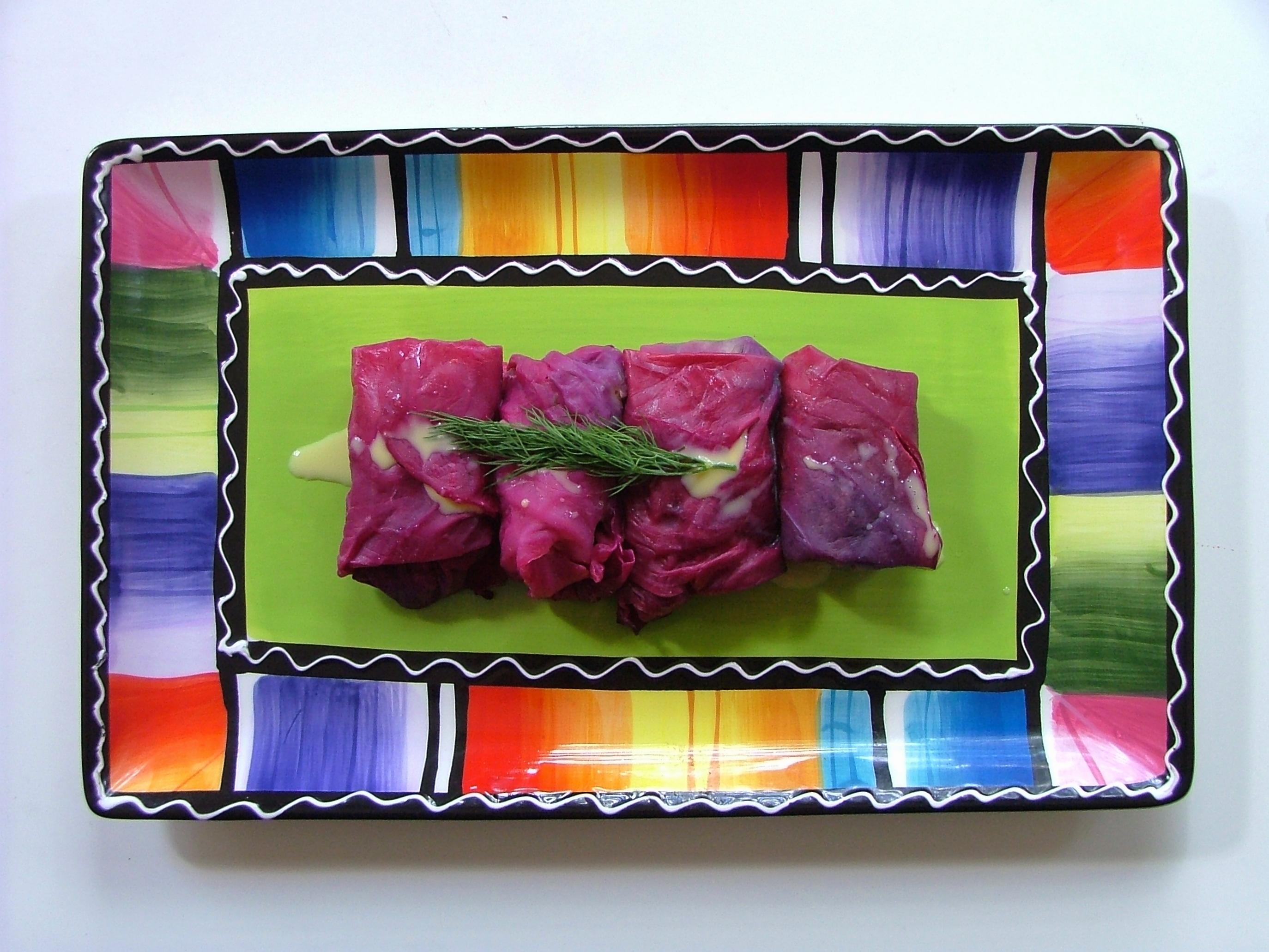 Meaty Stuffed Cabbage Rolls